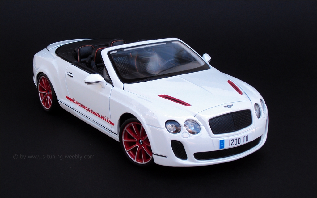 white Continental Supersports ISR Convertible image