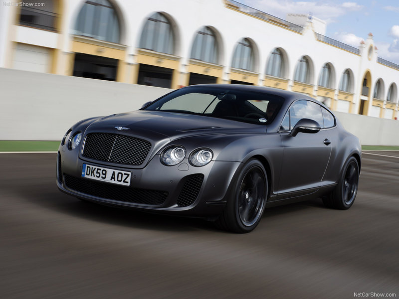 Bentley Continental Supersports Dark Grey On 20 Quot Bbs Rs Gt